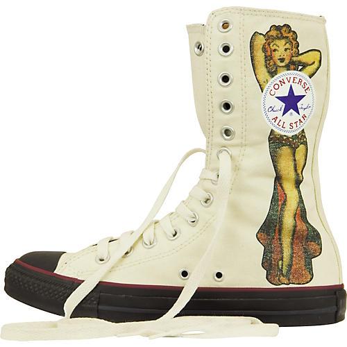 Converse Chuck Taylor All Star Sailor Jerry Pin Up Extra-Hi-Tops