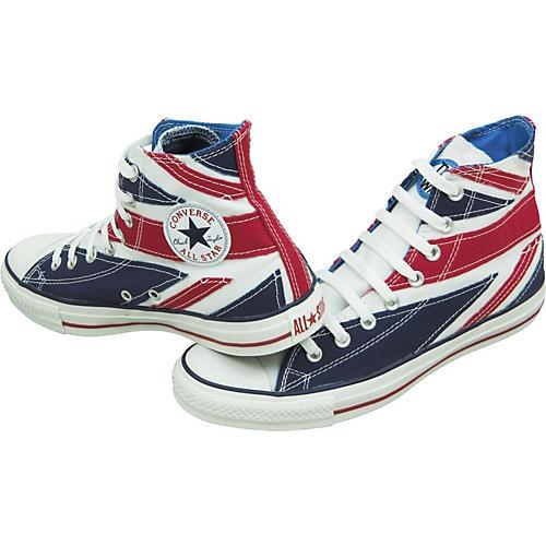 Converse Chuck Tayor The Who British Flag Hi Tops