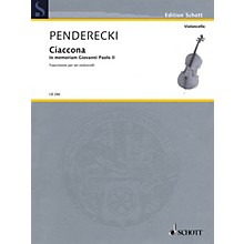 Schott Ciaccona - in Memoriam Giovanni Paolo II String Ensemble by Krzysztof Penderecki