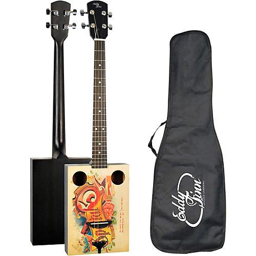Eddy Finn Cigar Box Acoustic Guitar