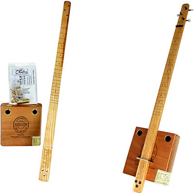 C.B. Gitty Cigar Box Pure & Simple 3-String Slide Guitar Kit