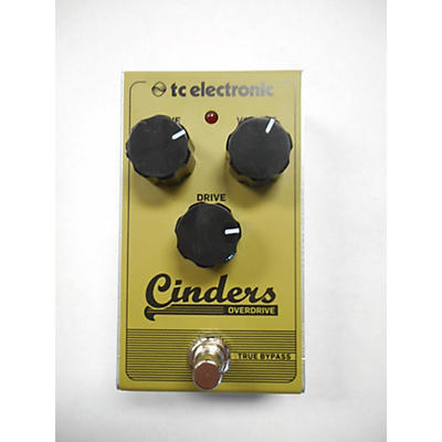 TC Electronic Cinders Overdrive Effect Pedal