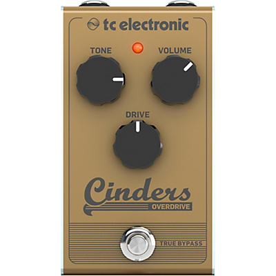 TC Electronic Cinders Overdrive Effects Pedal