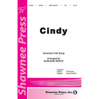 Shawnee Press Cindy TB arranged by Earlene Rentz