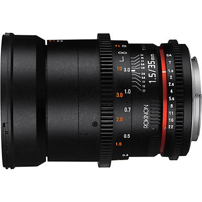 ROKINON Cine DS 35mm T1.5 Wide Angle Cine Lens for Micro Four Thirds