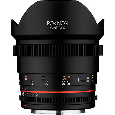 ROKINON Cine DSX 14mm T3.1 Ulra Wide Angle Cine Lens for Canon EF