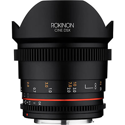 ROKINON Cine DSX 14mm T3.1 Ulra Wide Angle Cine Lens for Micro Four Thirds