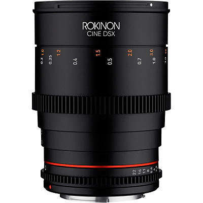 ROKINON Cine DSX 35mm T1.5 Wide Angle Cine Lens for Canon EF