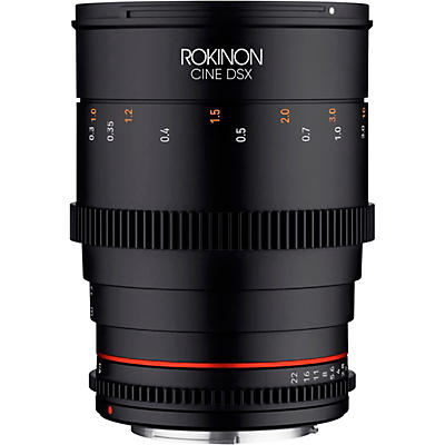 ROKINON Cine DSX 35mm T1.5 Wide Angle Cine Lens for Micro Four Thirds
