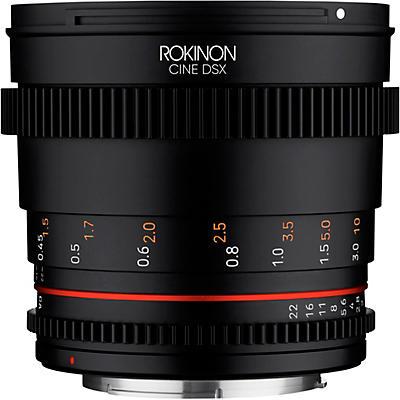 ROKINON Cine DSX 50mm T1.5 Cine Lens for Canon EF
