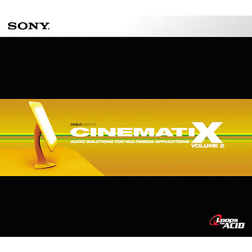 Sony Cinematix Vol 2 ACID Loop CD