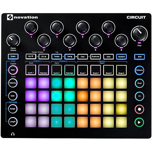 Novation Circuit Groove Box + Sample Import
