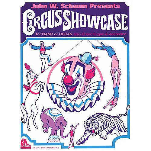 SCHAUM Circus Showcase Educational Piano Series Softcover