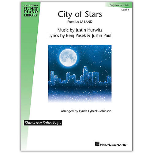 Hal Leonard City Of Stars-Hal Leonard Student Piano Library Showcase Solos Pops-Early Intermediate Level 4