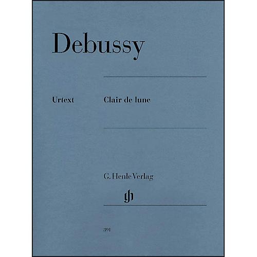G. Henle Verlag Clair De Lune By Debussy
