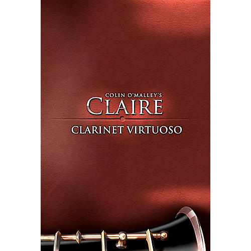 8DIO Productions Claire Clarinet Virtuoso