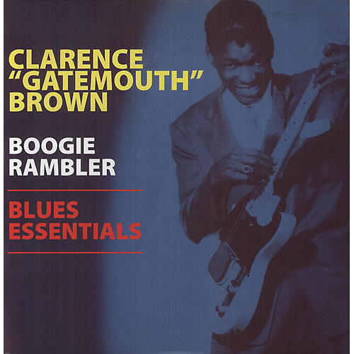 Alliance Clarence Brown - Boogie Rambler - Blues Essentials