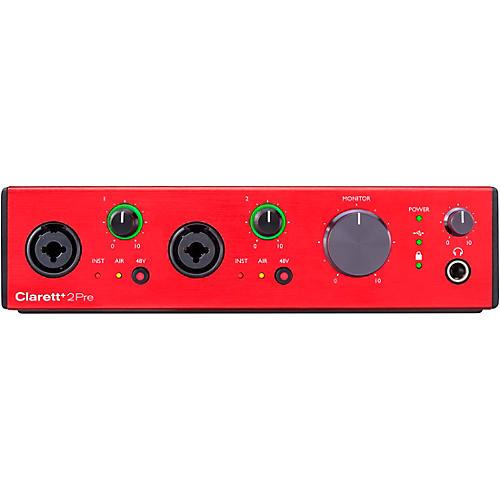 Focusrite Clarett+ 2Pre USB Audio Interface