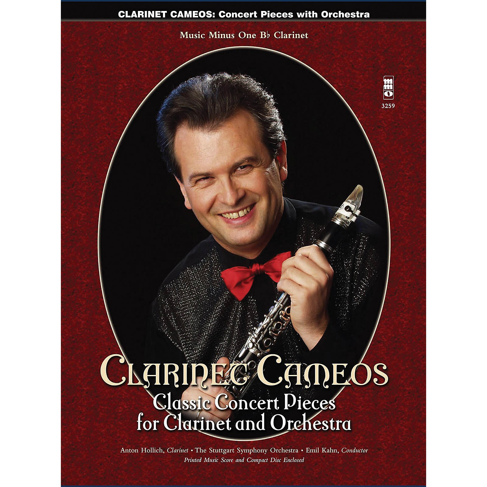 Music Minus One Clarinet Cameos - Classic Concert Pieces for Clarinet and Orchestra Music Minus One BK/CD
