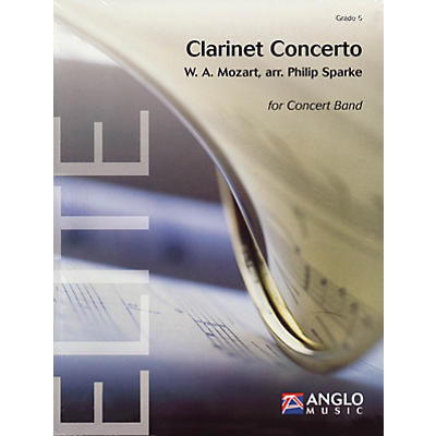 Anglo Music Press Clarinet Concerto (Grade 5 - Score Only) Concert Band Level 5 Arranged by Philip Sparke