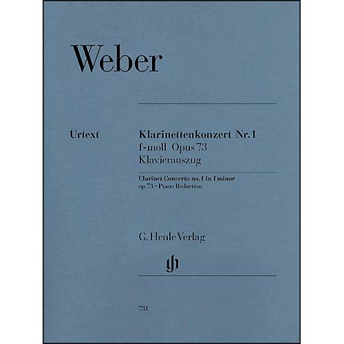 G. Henle Verlag Clarinet Concerto No. 1 in F minor, Op. 73 By Weber