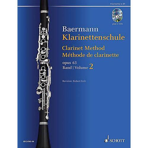 Schott Clarinet Method, Op. 63 Woodwind Method Series BK/CD