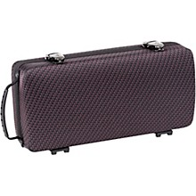 Clarinet Shaped Case Greenline Carbon Red Black
