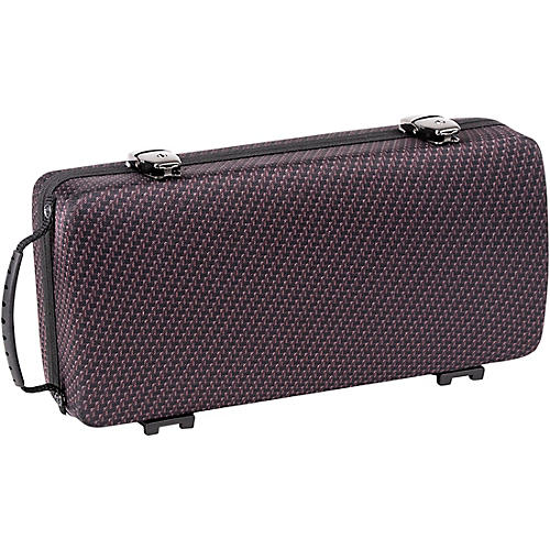 J. Winter Clarinet Shaped Case Greenline Carbon Red Black