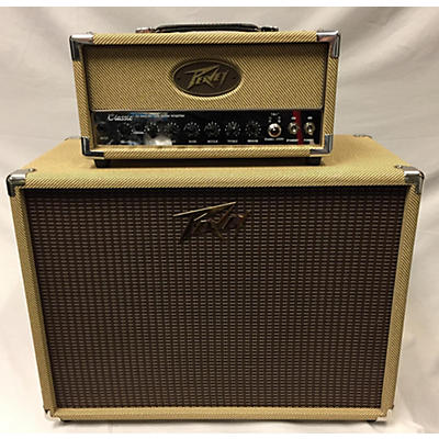 Peavey Classic 20 Head With Matching 112 Cab Tube Guitar Amp Head