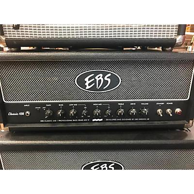 EBS Classic 450 450W Bass Amp Head