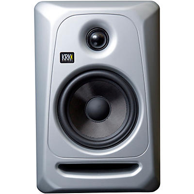 """KRK Classic 5 G3 5"""" Powered Studio Monitor, Silver and Black Limited Edition (Each)"""