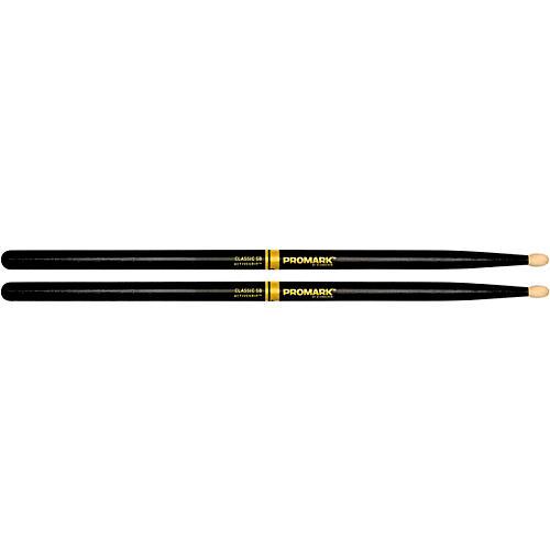 Promark Classic ActiveGrip Drum Sticks, Black