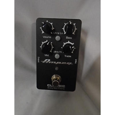 Ampeg Classic Analog Bass Preamp Bass Preamp