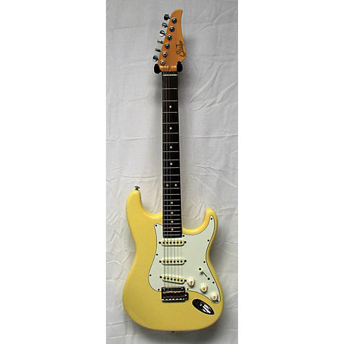 Suhr Classic Antique Solid Body Electric Guitar Vintage Yellow
