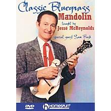 Homespun Classic Bluegrass Mandolin DVD/Instructional/Folk Instrmt Series DVD Written by Jesse McReynolds