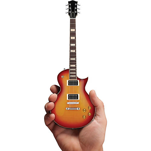 Axe Heaven Classic Cherry Sunburst Electric Guitar Officially Licensed Miniature Guitar Replica