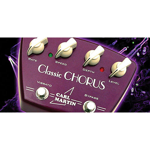 Carl Martin Classic Chorus Guitar Effects Pedal