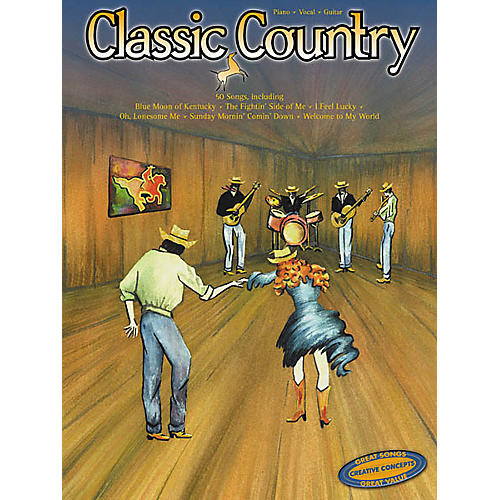 Creative Concepts Classic Country Piano, Vocal, Guitar Songbook
