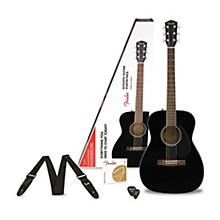 Open BoxFender Classic Design Series CC-60S Concert Acoustic Guitar Pack