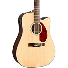 Open Box Fender Classic Design Series CD-140SCE Cutaway Dreadnought Acoustic-Electric Guitar