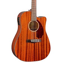Open BoxFender Classic Design Series CD-140SCE Mahogany Cutaway Dreadnought Acoustic-Electric Guitar