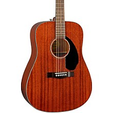 Open BoxFender Classic Design Series CD-60S All-Mahogany Dreadnought Acoustic Guitar