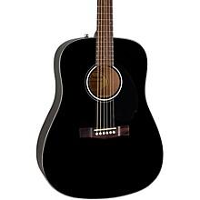 Classic Design Series CD-60S Dreadnought Acoustic Guitar Black