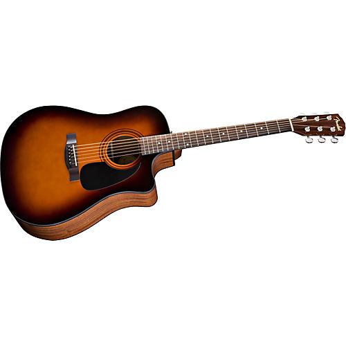 Fender Classic Design Series CD60CE Cutaway Dreadnought Acoustic-Electric Guitar