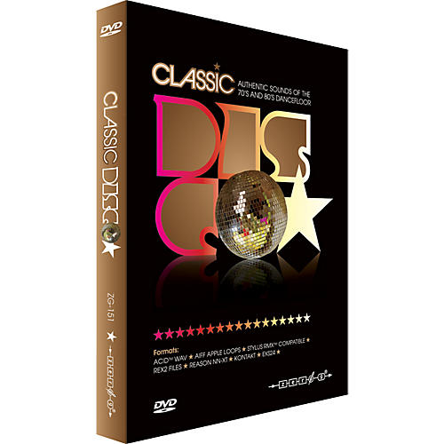 Zero G Classic Disco Groove Sample Collection