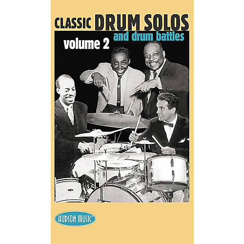 Hudson Music Classic Drum Solos Volume 2 (VHS)