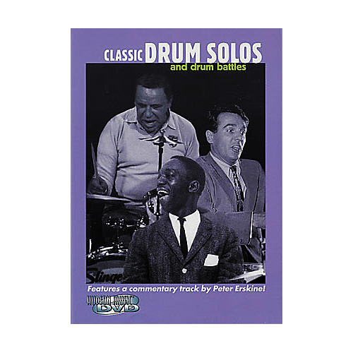 Hudson Music Classic Drum Solos and Drum Battles (DVD)