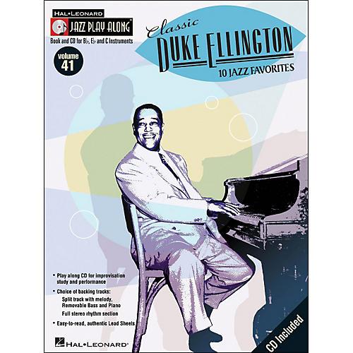 Hal Leonard Classic Duke Ellington Book/CD 10 Jazz Favorites Volume 41 Jazz Play Along