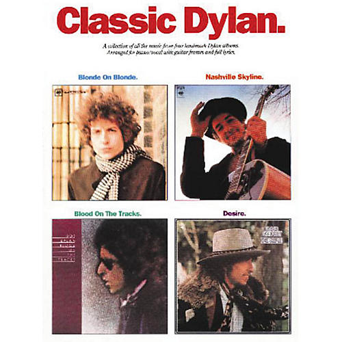 Music Sales Classic Dylan Music Sales America Series Softcover Performed by Bob Dylan