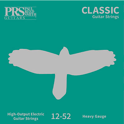 PRS Classic Electric Guitar Strings, Heavy (.012-.052)